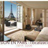 Sesión en 1 localización (Paris)